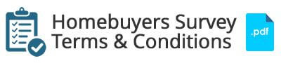 homebuyers survey terms and condition download link